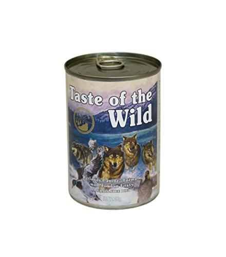 Taste Of The Wild Alimentacion Humeda con Pato pack de 12 x390 gr Wetlands