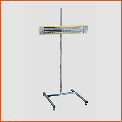 Portable Paint Curing Lamp Heavy Duty Stand & Casters Automotive Painting Tools & Accessories Medium Wave Auto Body Filler - House Deals
