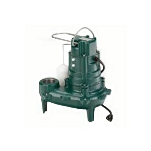 Zoeller 267-0001 M267 Waste-Mate Sewage Pump, 1/2 Horsepower,...