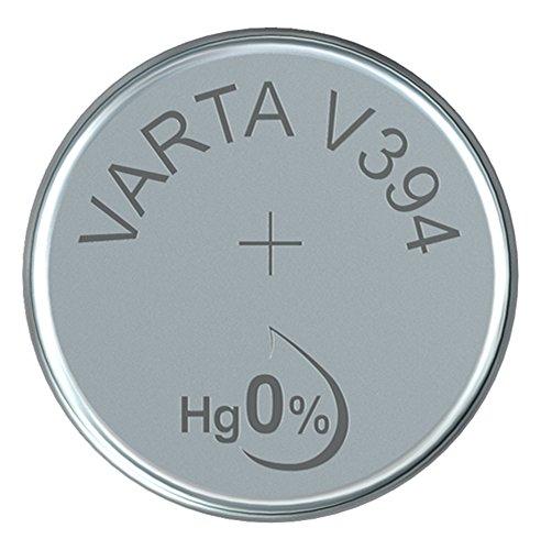 'VARTA 14501394Sauna Motif oxyde d'argent Pile Bouton V394Argent