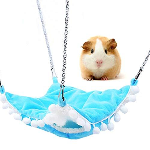 AOOCEEH Casa para Hamster Cama Conejo Enano Hamster Casa Ropa para Cobayas...