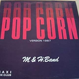 M & H Band - Pop Corn (1987 Version) - Musidisc - 11968