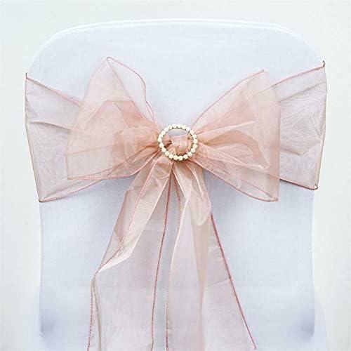 10 pcs Organza Cheap SALE Start Chair Sashes All items free shipping Bows Reception Dec naKN Ties Wedding