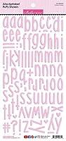 Bella Besties Aria Alpha Puffy Stickers-Cotton Candy