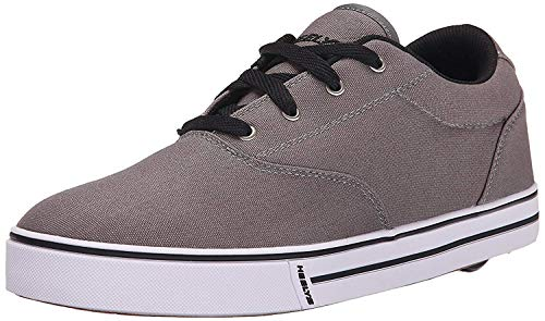 Heelys Men's Launch Fashion Sneaker, Grey, 9 M US