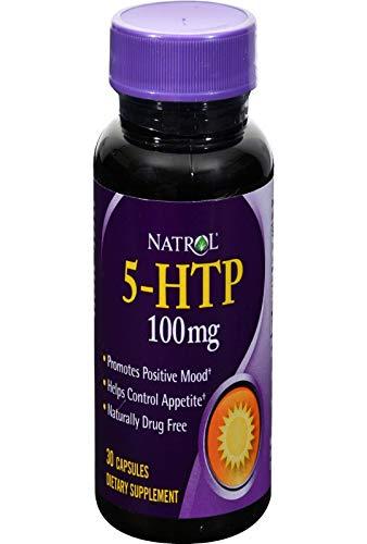 Natrol 5-HTP (100mg, 30 Capsules)