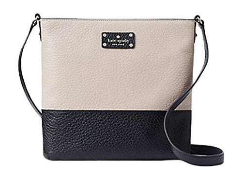 """Crossbody bag with zipper closure and adjustable strap Interior double slide pockets and zipper pocket Chunky pebbled leather Drop length: 22"""" 10.1"""" height x 10.1"""" width x 1.2"""" depth"""