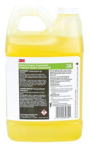Neutral Cleaner, Use with 3M System