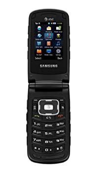 Samsung SGH-A847 Rubgy 2 Rugged GSM Unlocked AT&T 3G MP3 Flip Cell Phone No Contract