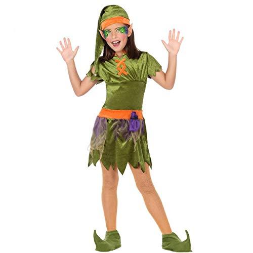 Atosa -56911 Costume Duende, colore: verde, 10-12 anni (56911)