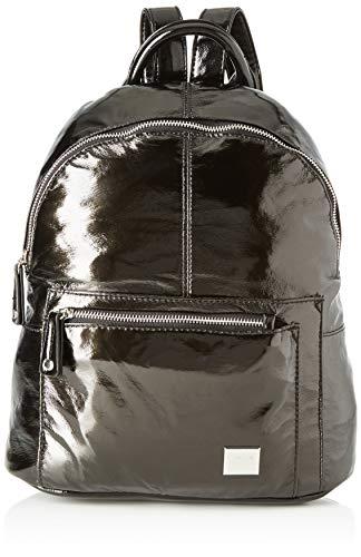 MARIA MARE Mariamare Galena, Bolso mochila para Mujer, Negro (Metalic Negro), 14x34x29 cm (W x H x L)