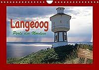 Langeoog Perle der Nordsee (Wandkalender 2022 DIN A4 quer): Details der Nordseeinsel Langeoog (Monatskalender, 14 Seiten )