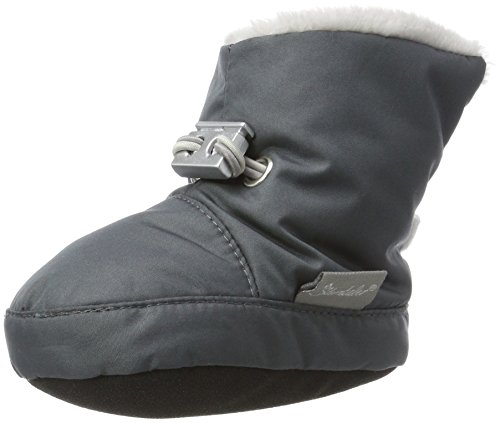 Sterntaler Jungen Baby Stiefel mit Klettverschluss, Grau (Eisengrau 577), 17/18 EU