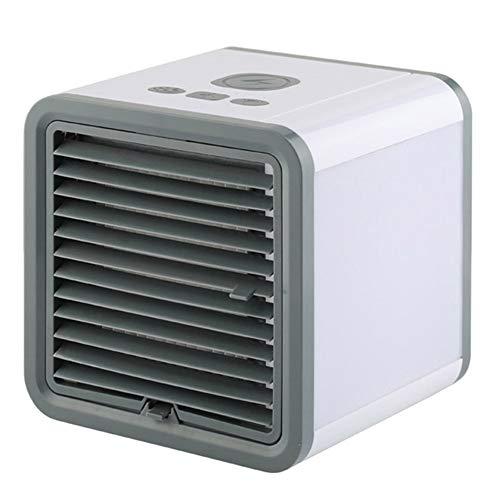 FGHB Tragbarer Luftkühler, 3-in-1-Luftkühler, Mini-Luftkühlerlüfter Geräuschloser Verdunstungskühler Mobile Klimaanlage, 3-stufiger Touch Control-Lüfter für das Büro zu Hause im Freien