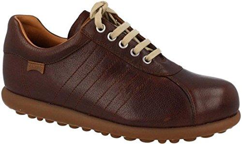 Camper Pelotas Ariel 16002 brunt gummi läderskor för män, - Brown Gum - 42 EU