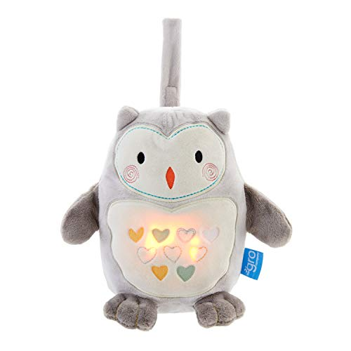 Tommee Tippee GRO Peluche Duermebebés con sensor de llanto Grofriend, Ollie el...