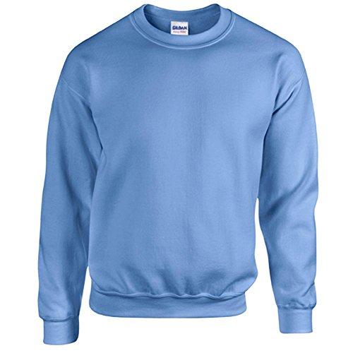 Gildan Heavy Blend Erwachsenen Crewneck Sweatshirt 18000 L, Carolina Blue
