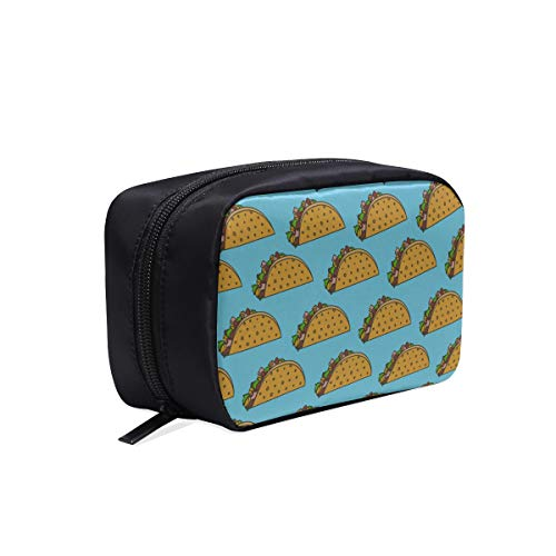 Cosmetic Bag Designer Delicious Cartoon Fast Food Burrito Travel Bags For Girls Fashion Cosmetic Bag Toiletry Bag For Men Small Cosmetic Bags Multifunction Case Toiletry Bag Organizer Bag Organizer