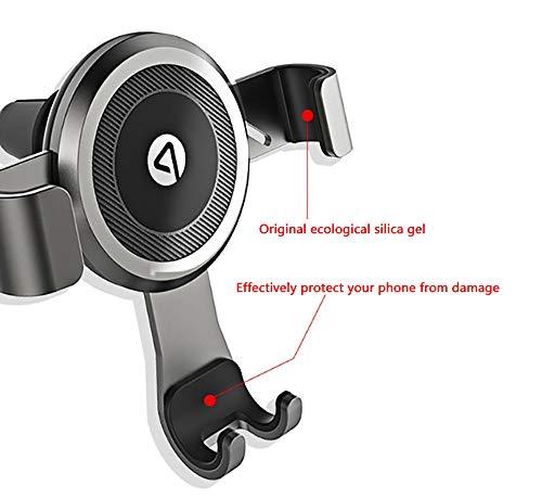 FTFTO Handyhalterung Auto Handyhalterung Auto LüFtung Universal 360 Grad Drehung Kfz LüFtung Halter füR Huawei und Jedes Andere Smartphone Oder GPS-GeräT, AutozubehöR - 2
