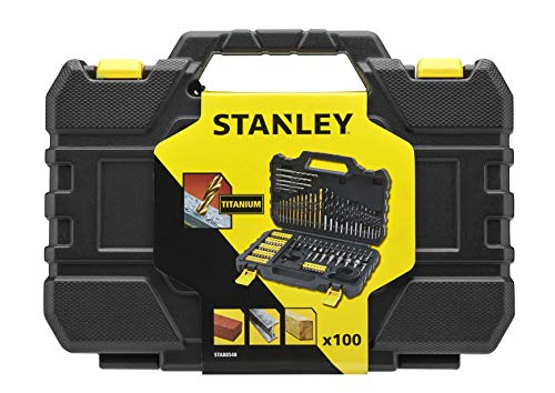 Stanley STA88548-XJ Drill and Screw Set 100 Pieces