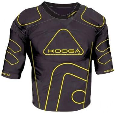 KooGa Brand new IPS price Junior Rugby Pads Shoulder Black Yellow