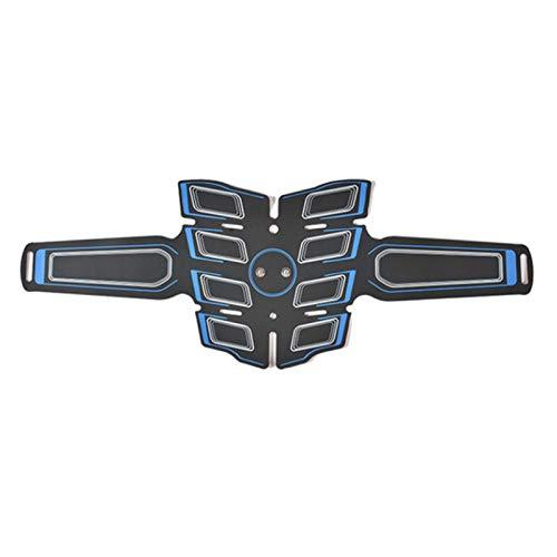 xxffyy Cinturón de estimulación de Abdominales, Entrenador de estimulación Muscular eléctrica, Dispositivo de Gimnasio portátil inalámbrico, para Entrenamiento de Abdomen/Brazos/piernas Ejercicio