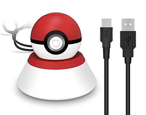 Ladestation Kompatibel Mit Dem Neuen 2018 Pokemon Pokeball Plus Controller, Ladestation Für Nintendo Switch-zubehör Pokeball