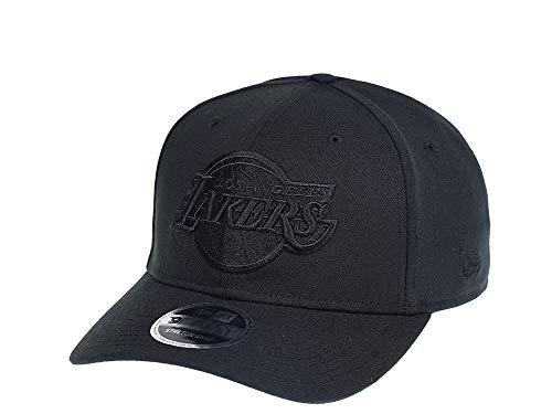 New Era Los Angeles Lakers Black on Black Editon 9Fifty Snapback Cap - NBA Kappe