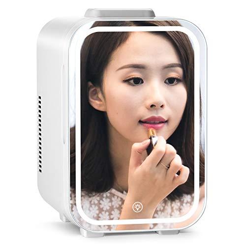MZBZYU Mini Nevera, Refrigerador de Cosméticos de 8 l Gran Capacidad, para Dormitorio, Oficina, Dormitorio, Coche, Viaje, Caravana para el Cuidado de la Piel y cosméticos
