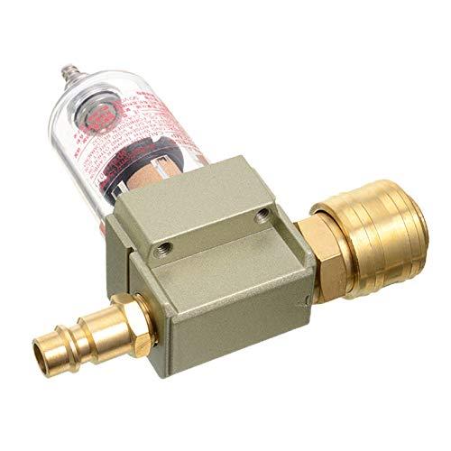 LXH-SH Kraftstofffilter Filtro DE Agua DE Agua DE Agua DE ACEPE Durable 1 UNID para EL Filtro DE Aire COMPRIMIDO Incluye 1/4'Acoplamiento rápido para la Herramienta de compresor