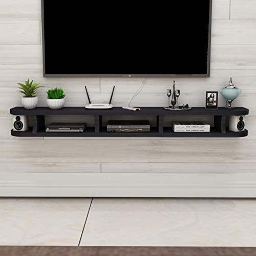 Wand-tv-kast wifi-router set top box dvd-speler kleine luidspreker projector plank drijvende plank wandplank TV-staander tv-board