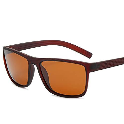 ZEMENG Gafas De Sol De Marco Completo, Gafas De Sol Polarizadas De Estilo Deportivo, Gafas De Sol Flexibles Y Cómodas para Pescar,A