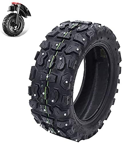 Neumáticos de scooter eléctrico Ruedas duraderas, neumático de nieve todoterreno 90-65-6.5 de 11 pulgadas, con clavos antideslizantes resistentes al desgaste, adecuado para accesorios de neumáticos d