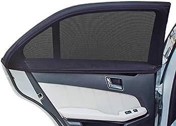 2-Pack Augola Car Rear Side Window Sunshades