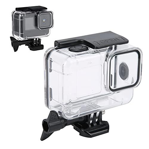Jopwkuin Estuche para Hero9 Negro, Material de PC Carcasa de la cámara Carcasa para Hero9 A Prueba de caídas para bucear Esnórquel para Nadar Nieve para Disparar