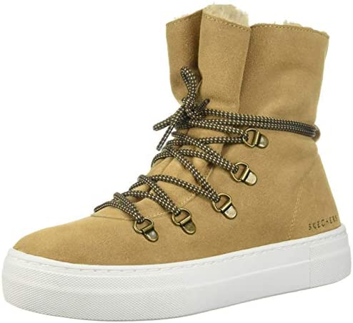 Skechers Women s Alba High Hugs Tall Suede lace up Sneakerboot Sneaker cml 11 M US product image