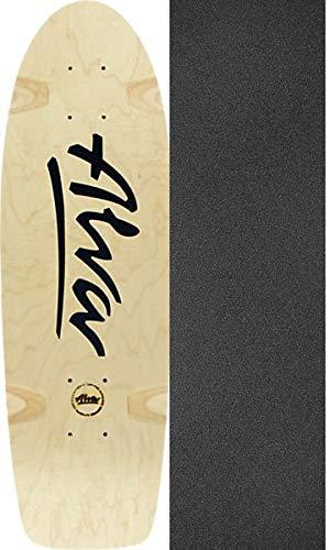 Alva Skateboards Bela Horvath Reissue Skateboard-Brett/Deck, 21,6 x 68,6 cm, mit schwarzem Jessup Griptape, 2 Stück