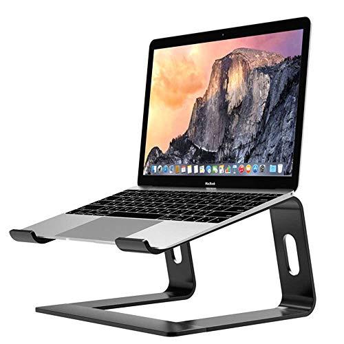 Funiee - Supporto per computer portatile, in alluminio, ergonomico, per scrivania, supporto in metallo, compatibile con notebook da 10-15,6 pollici