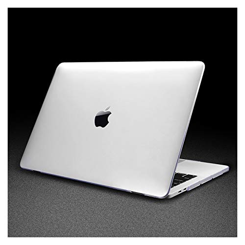 WSGYX Leather/Cloth Case for Macbook Air 13 A2338 M1 A2179 A2337 A1932 Pro 13 15 A2159 A1466 A1708 Hard Cover+Keyboard Cover (Color : Crystal clear, Size : Air 11)