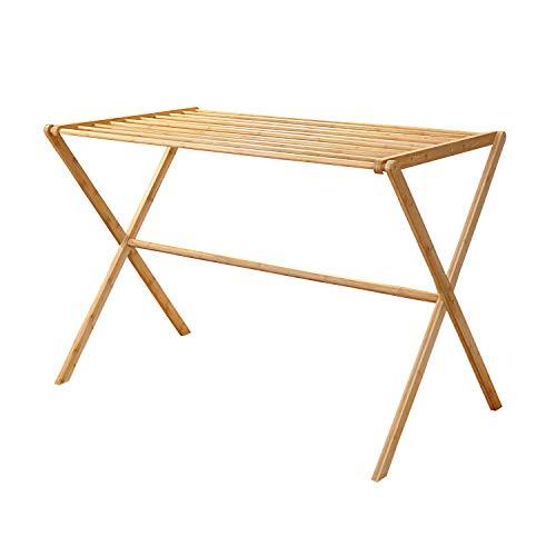 bamboo basic Wäscheständer Panda | ökologischer Bambus | kein Trockenknick | Wäsche trocken und aufhängen (L) | Indoor
