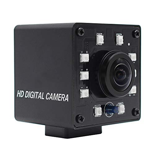 """100 fps telecamera USB visione notturna 1/2,7\"""" CMOS OV2710 Webcam Full HD 1080P USB con telecamera mini infrarossi USB2.0 Webcam con taglio a infrarossi e scheda LED da 10 pezzi"""