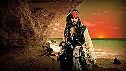 ZYYSYZSH Rompecabezas de 1000 Piezas, póster de Personaje Pirata, Divertido Rompecabezas de Papel, Rompecabezas de Bricolaje, Juguetes de crucigrama (38 x 26 cm)