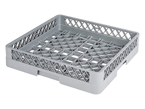 heyChef - Glas-Korb, 50 x 50 cm - ohne Einteilung | Grobmaschiger Spülkorb für die Gastro Spülmaschine | Weitere Spülkörbe direkt auswählbar