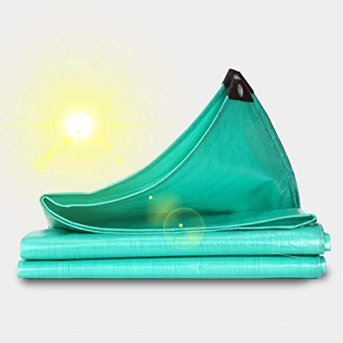 HCYTPL afdekzeil houtPersenning waterdicht Heavy Duty - groen tarp blad - overkapping tent, boot, camper of zwembad afdekking, 2 x 3 m