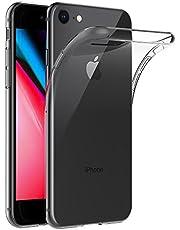 Hoesje voor Apple iPhone 7 / iPhone 8 (4,7 inch Scherm) MaiJin Schokbestendige Hoes Gemaakt van Doorzichtig Shock Proof TPU Siliconen