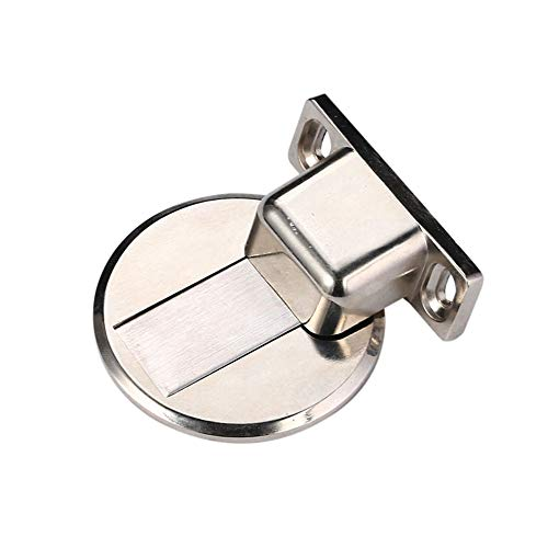 Door Stops Metal Holder Door Stop Invisible Anti-Collision Punch No Drilling Multi Surface and Non Scratching Durable Door Stopper Wall Protector