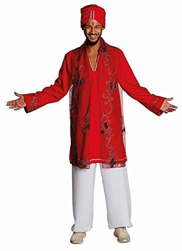Rubie's Herren Kostüm Bollywood Inder mit Turban zu Karneval Fasching Gr.48