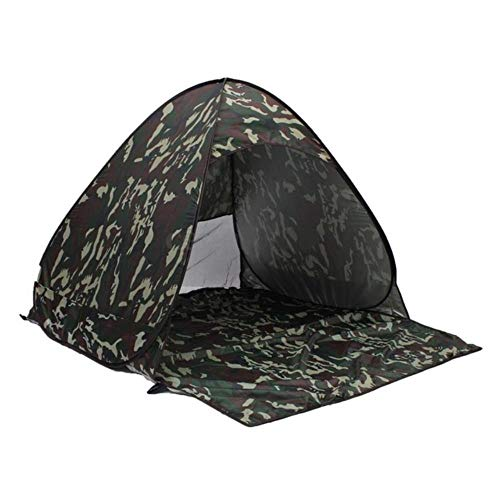 VLOU Outdoor 2-3 Person Waterproof Camouflage Camping Hiking Tent,Army Green