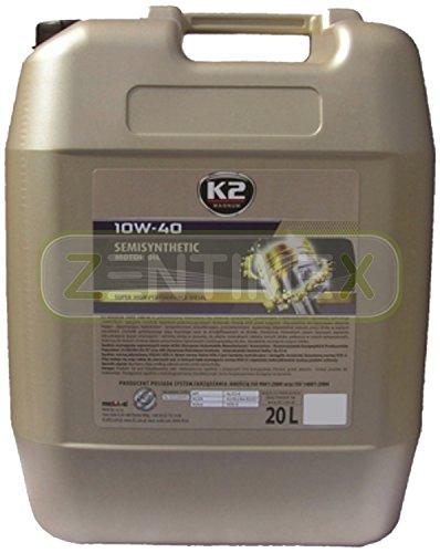 LKW-Motoröl LKW-Öl LKW halb-synthetisch 10W-40 Nanotechnologie Diesel-Motoren mit und ohne...