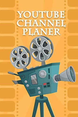Notizbuch: Youtube channel Planer | Videokamera | Organisiere jetzt deinen Kanal | Video Planer | Zielgruppenanalyse | Kanalübersicht | Content Planer ... | Kontaktliste | Statistiken | 5 Jahres Plan